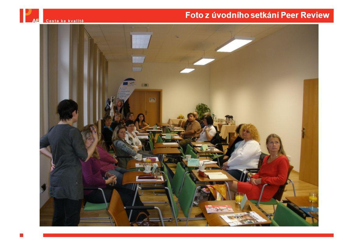Foto z úvodního setkání Peer Review