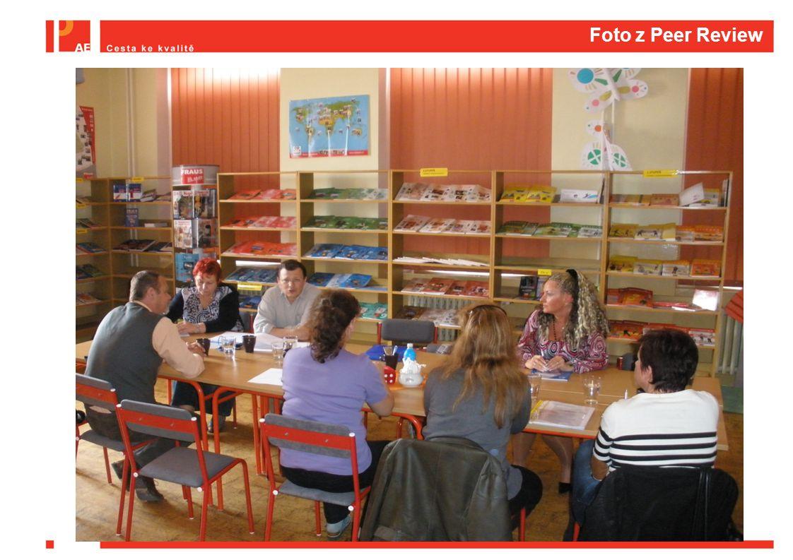 Foto z Peer Review  Dát nějaké foto z peer review
