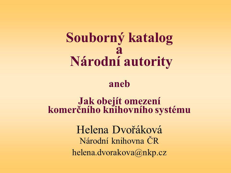 Automatizace knihovnických procesů .Integrovaný knihovnický systém .