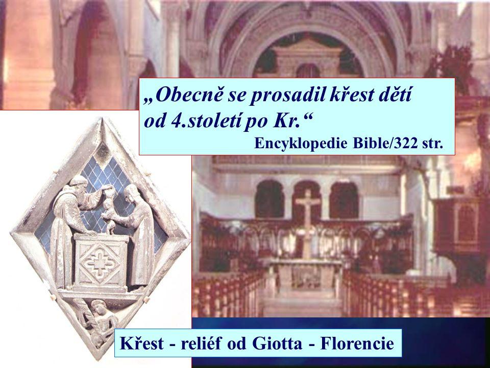 """1. Nemluvňata nejsou schopna splnit podmínky křtu. 2. Bible učí, že jsou čisté. 3. Prohlášení Ježíše, že dětem patří král. nebeské. n """"Ježíš však řekl"""