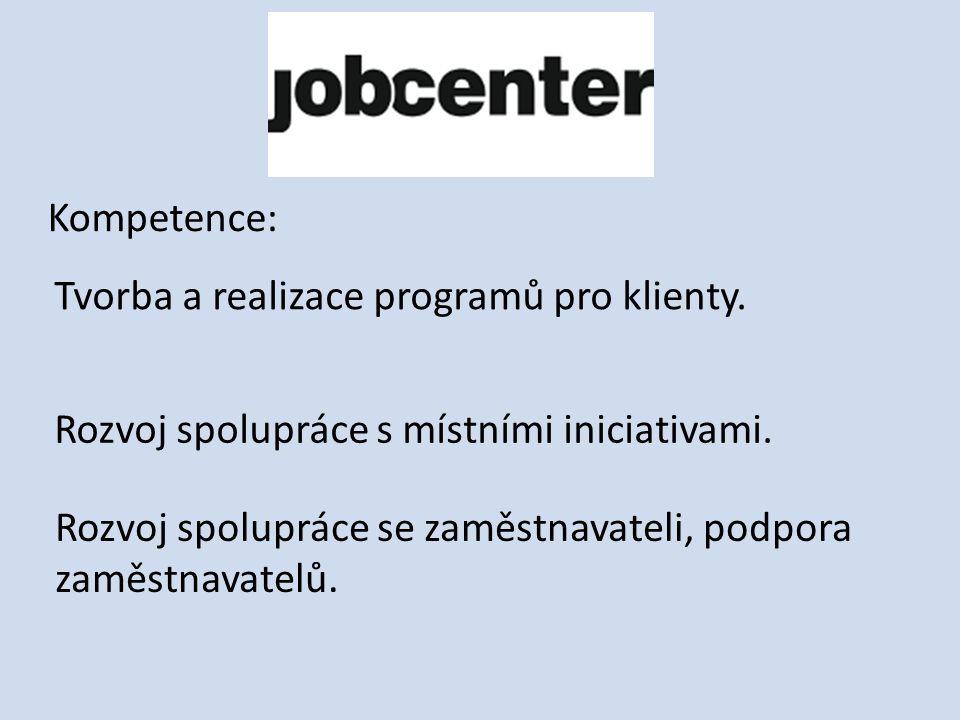Kompetence: Tvorba a realizace programů pro klienty.