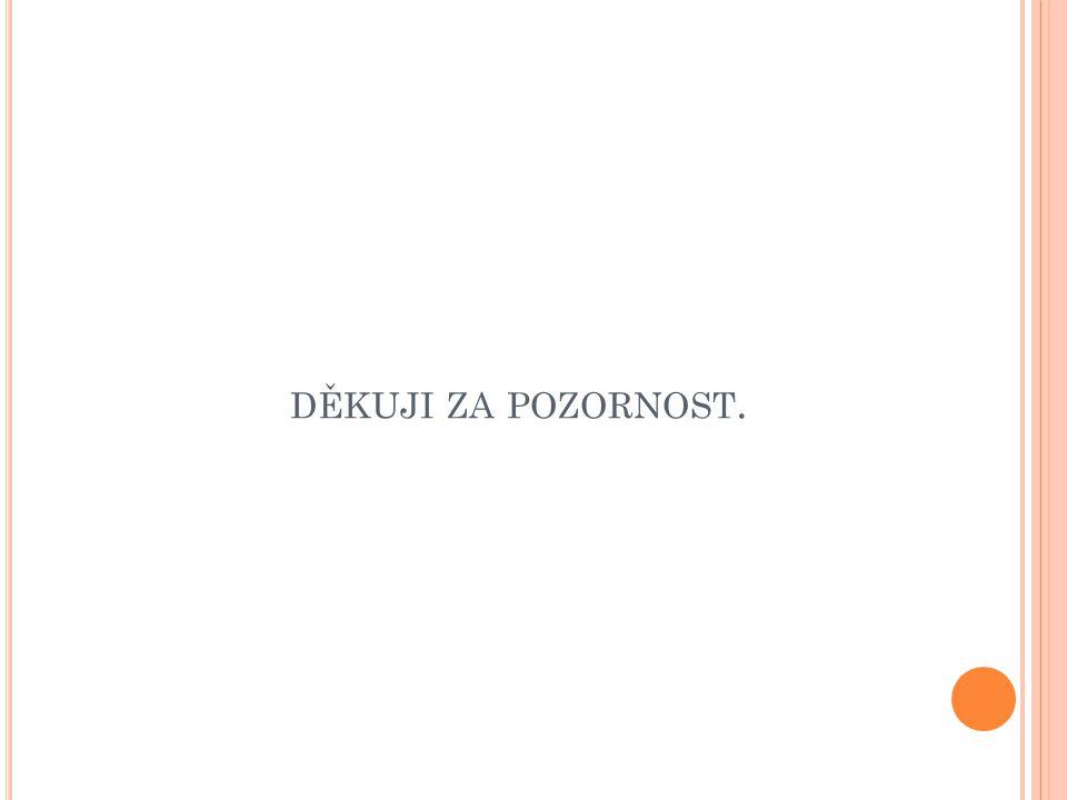 DĚKUJI ZA POZORNOST.