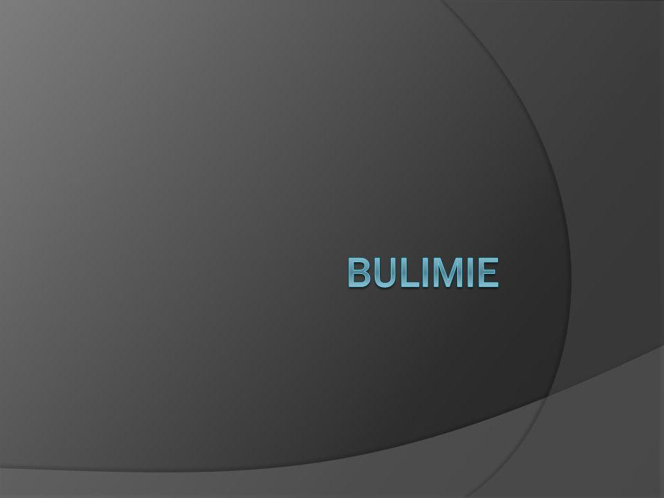 Léčba bulimie psychoterapie  Krátce řečeno, těžká.