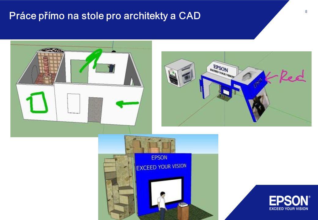 8 Práce přímo na stole pro architekty a CAD 8