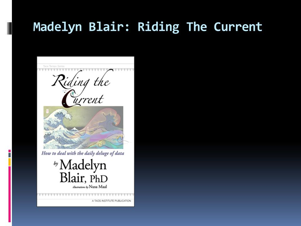 Madelyn Blair: Riding The Current