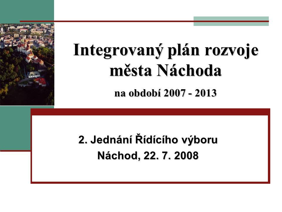 Integrovaný plán rozvoje města Náchoda na období 2007 - 2013 2.