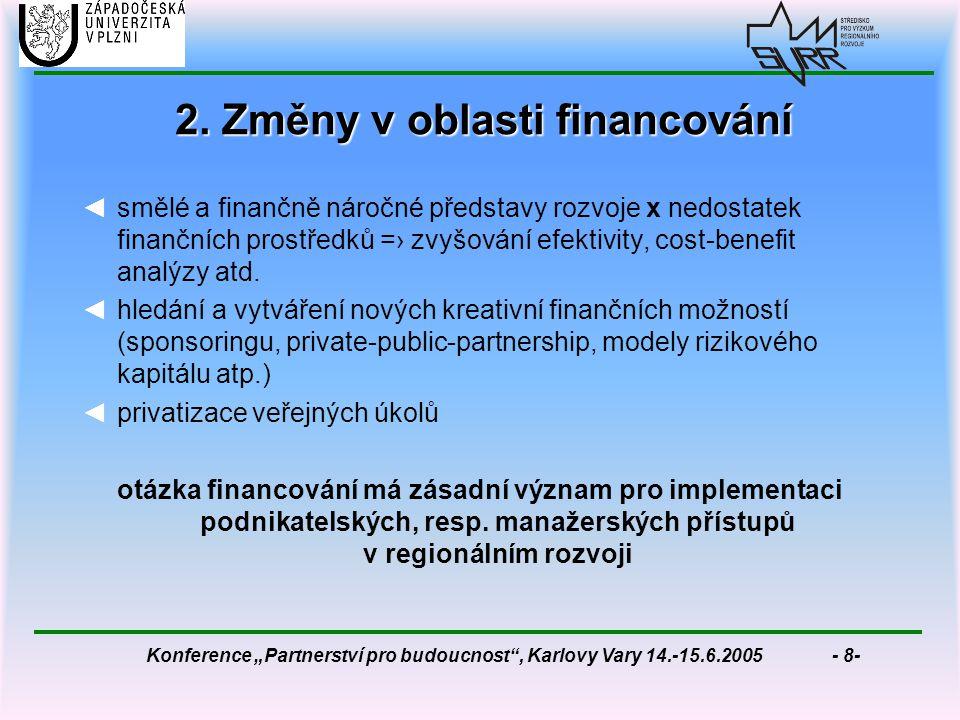 """Konference """"Partnerství pro budoucnost , Karlovy Vary 14.-15.6.2005 - 8- 2."""