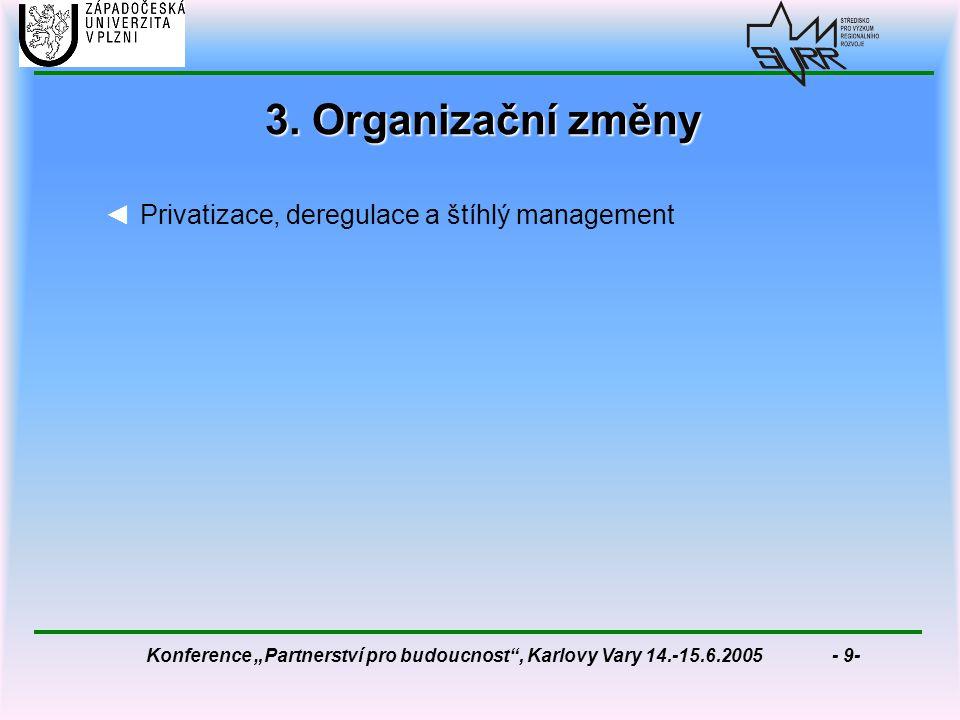 """Konference """"Partnerství pro budoucnost , Karlovy Vary 14.-15.6.2005 - 9- 3."""
