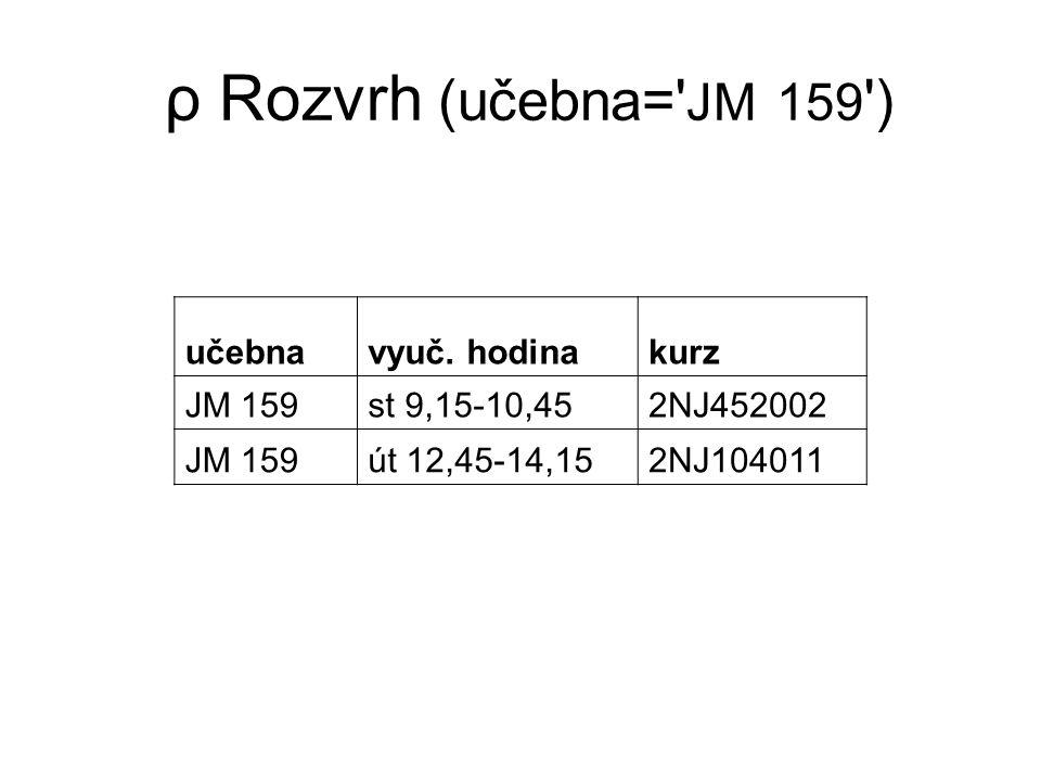 π Zápisy (student) student xkure01 xhils03 xnuke04 xkopl02 xmamo11 xoplt09
