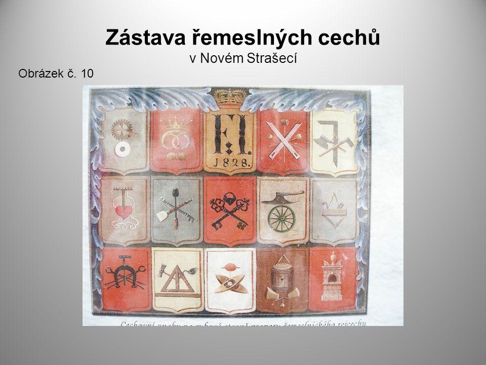 Zástava řemeslných cechů v Novém Strašecí Obrázek č. 10