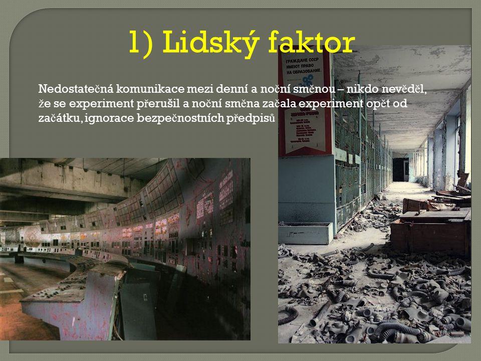 P ř í č iny havárie -2 základní hypotézy – nedostate č ná komunikace mezi pracovníky v Č ernobylu - chybná konstrukce jaderného reaktoru RBMK-1000