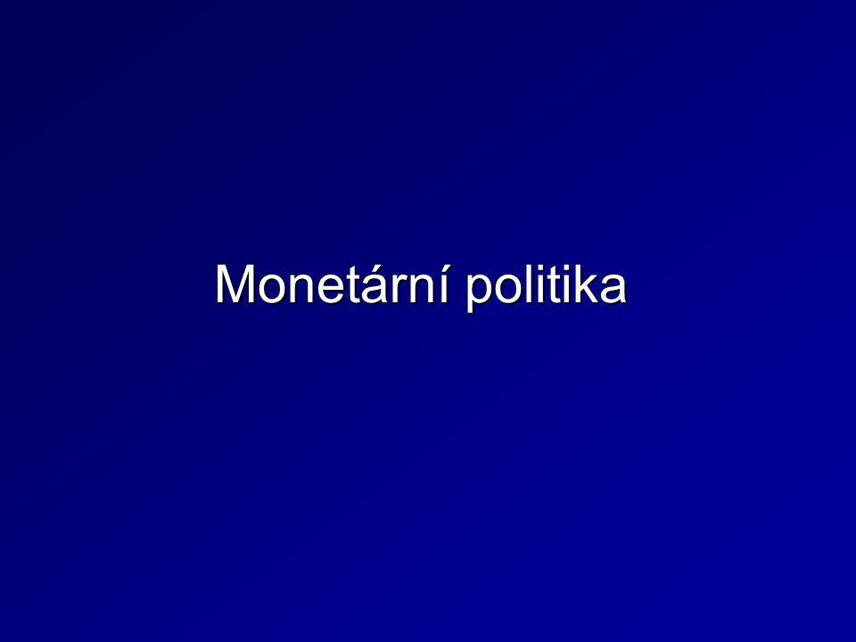 Představuje souhrn opatření a zásad, které mají prostřednictvím měnových nástrojů prosazovat plnění měnových cílů.