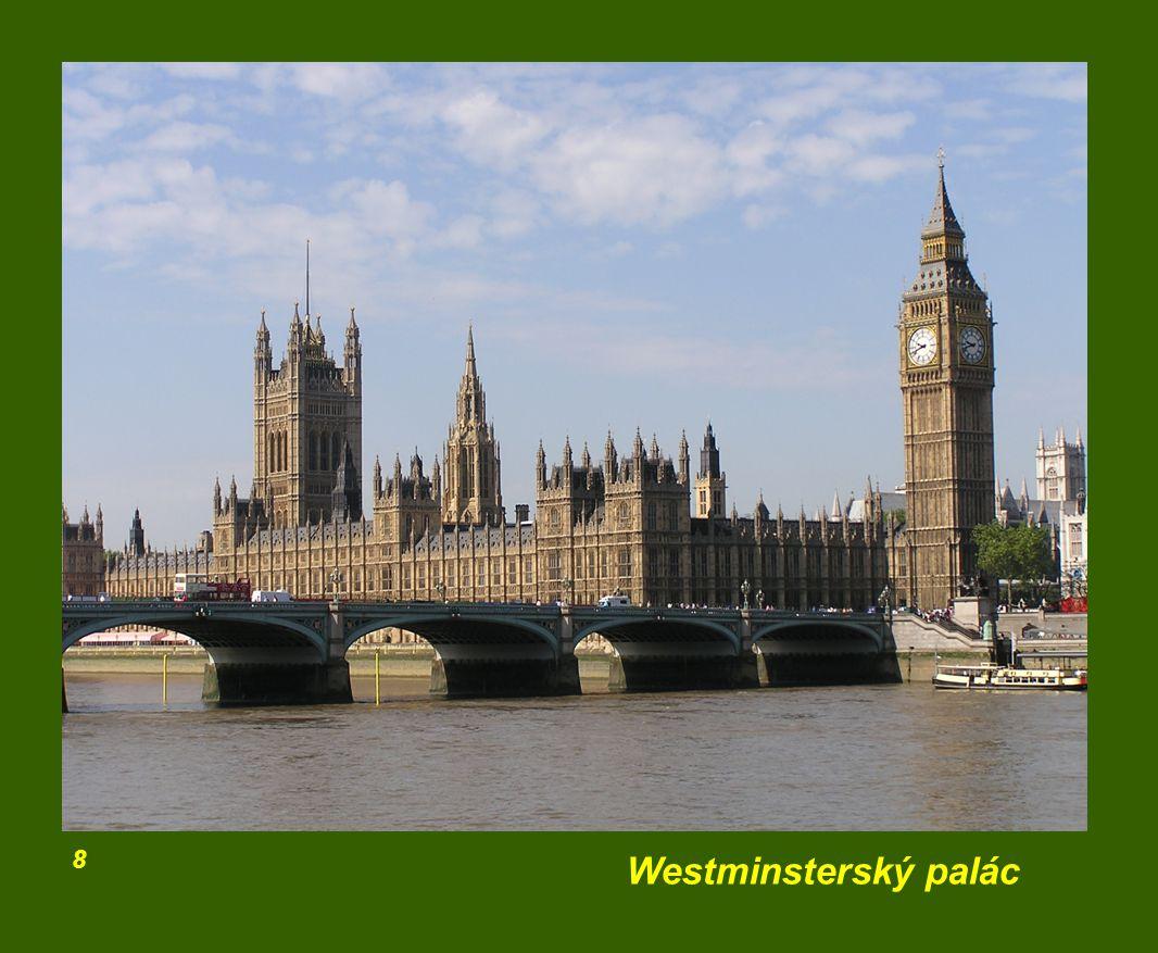 8 Westminsterský palác