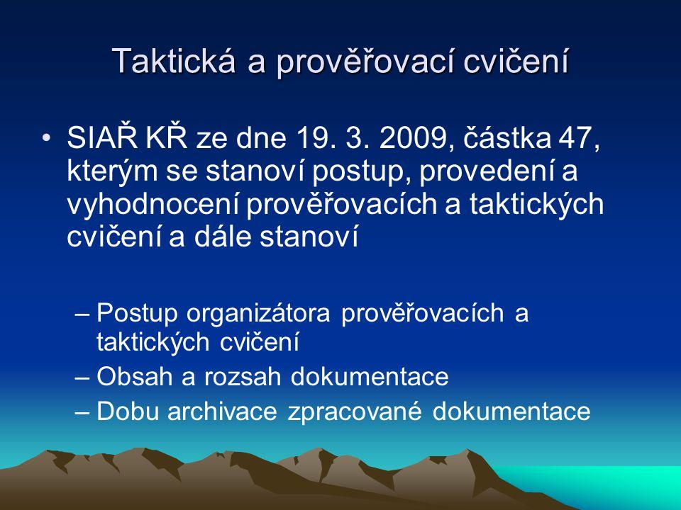 SIAŘ KŘ ze dne 19.3.
