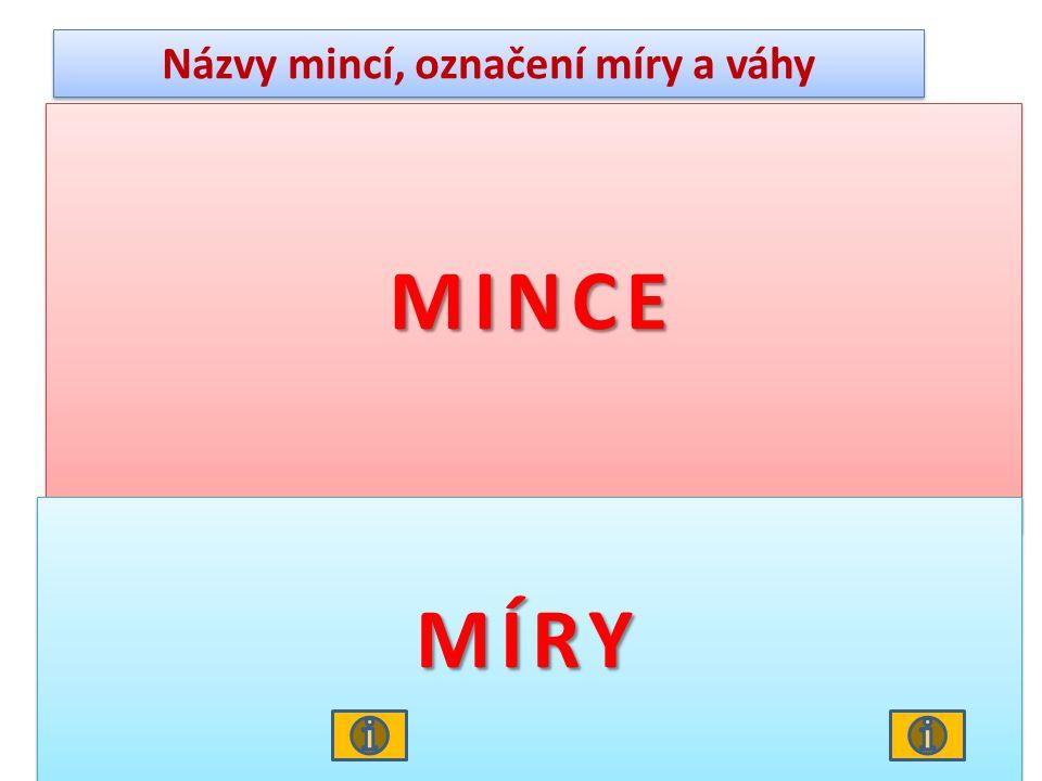 Názvy mincí, označení míry a váhy Obr. 5 Jáchymovský tolar Pražský groš Obr.