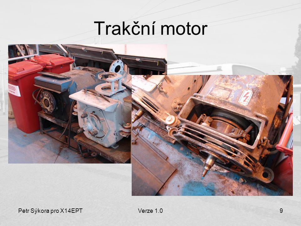 Petr Sýkora pro X14EPTVerze 1.020 Režim elektrodynamické brzdy Obvod kotvy a brzdového odporníku