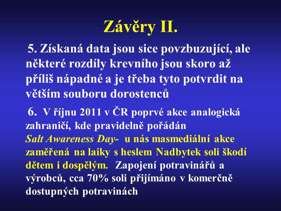 Závěry II.5.