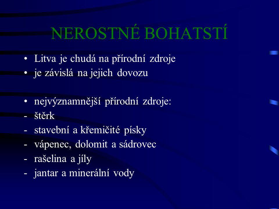 OSOBNOSTI hlava státu: V.Adamkus (Od r.1998) spisovatelé: M.