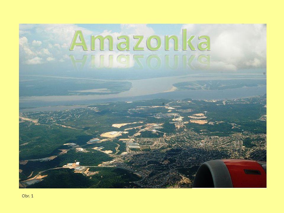 OTÁZKY K OPAKOVÁNÍ Popiš význam Amazonky.Kde pramení a kam ústí.