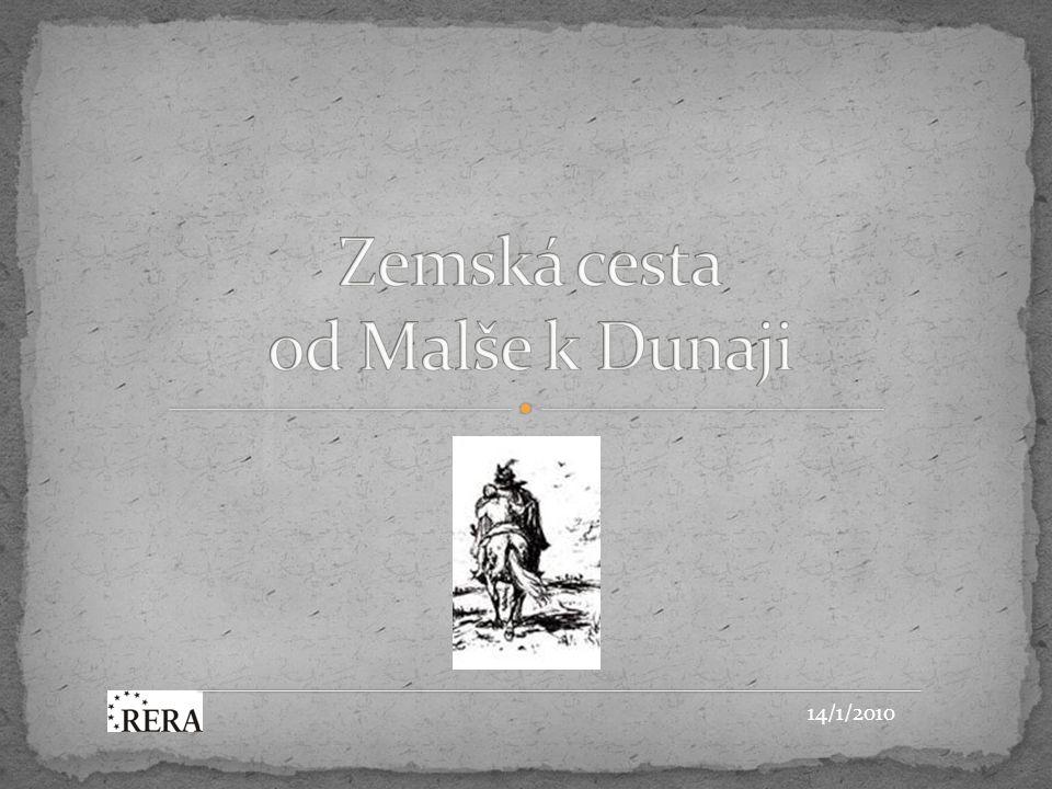 Shrnutí Projekt Zemská cesta od Malše k Dunaji je originální, lákavý i trochu tajemný příběh, který je blízko své realizaci.