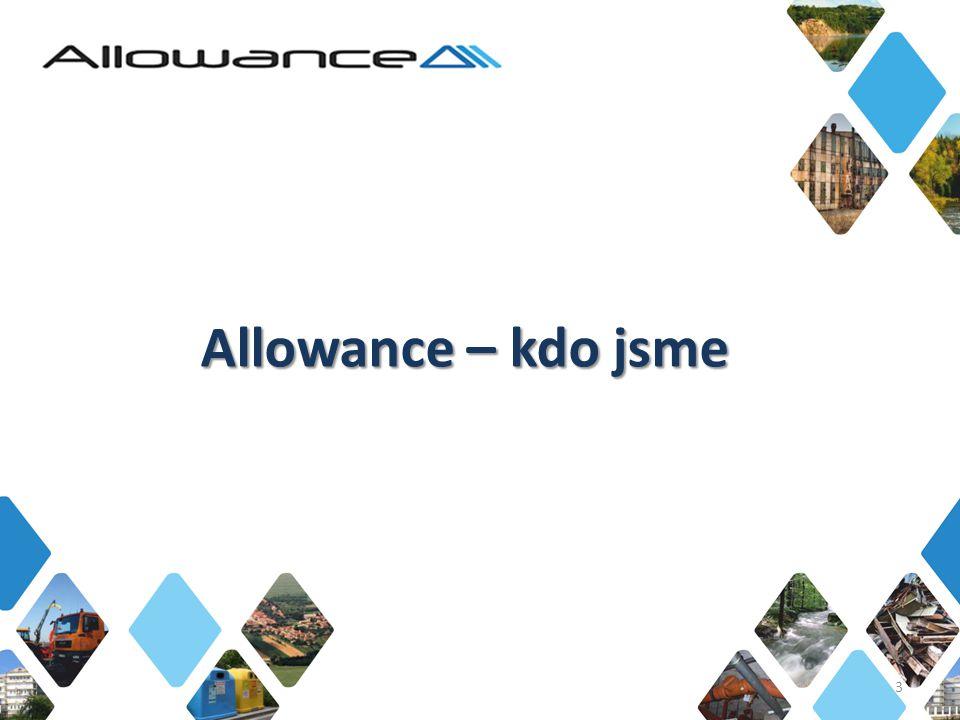 Allowance s.r.o., Na Dvorcích 1989/14, 114 00 Prague 4, Czech Republic, tel.: +420 241 021 031, fax: +420 241 021 046, email: info@allowance.cz Allowance s.r.o.