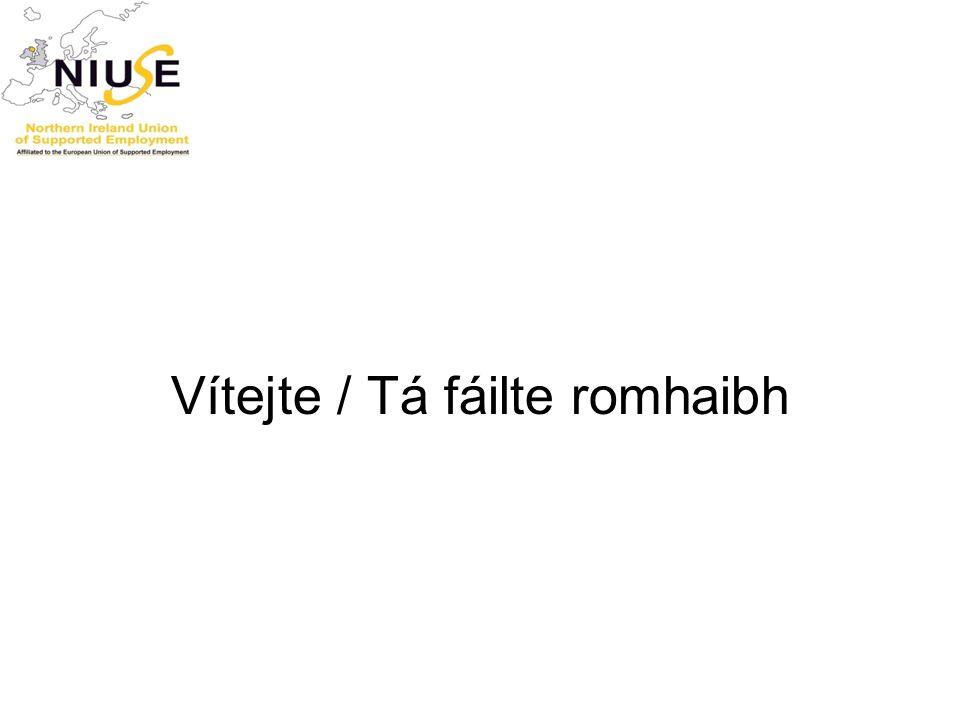 Vítejte / Tá fáilte romhaibh