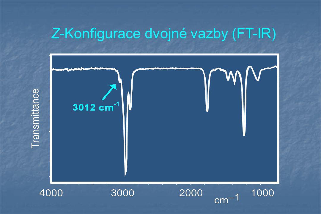 Z-Konfigurace dvojné vazby (FT-IR)