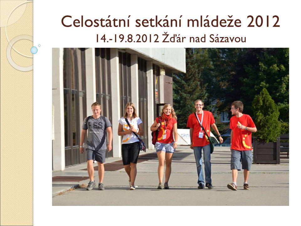 Celostátní setkání mládeže 2012 14.-19.8.2012 Žďár nad Sázavou