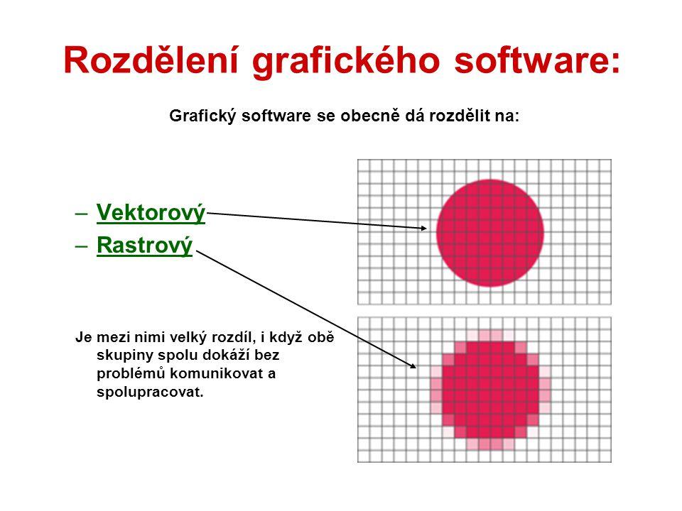 1.VEKTOROVÁ GRAFIKA Grafické informace se ukládají ve formě matematického zápisu.