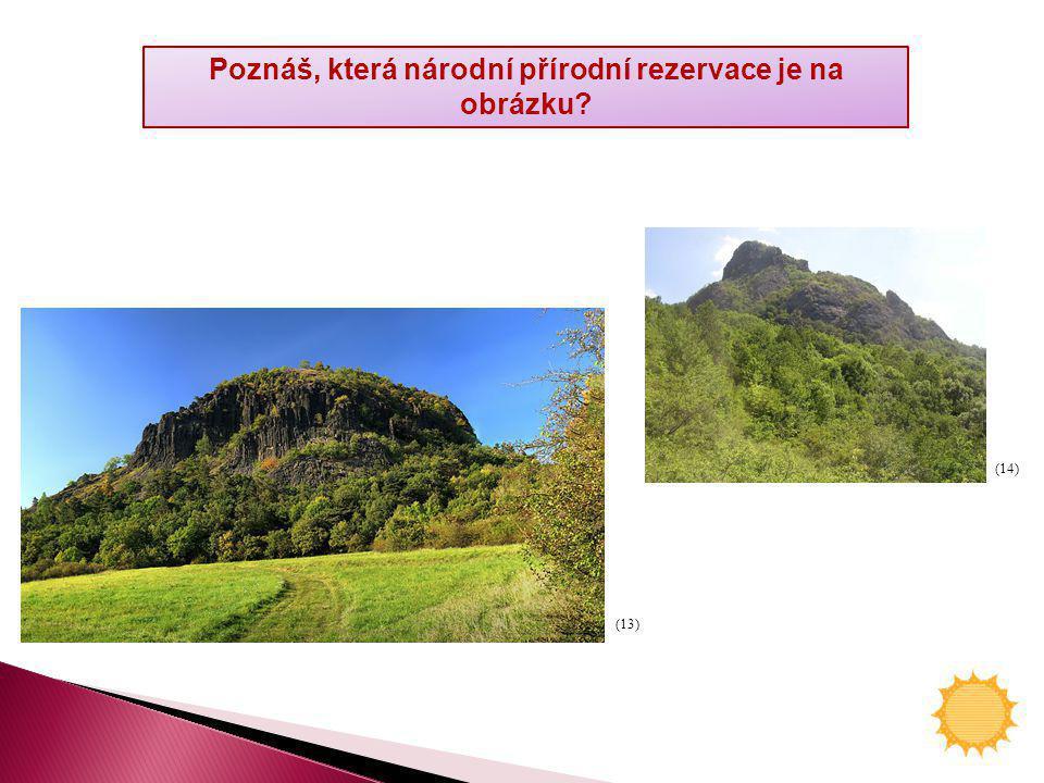 Poznáš, která národní přírodní rezervace je na obrázku? (13) (14)