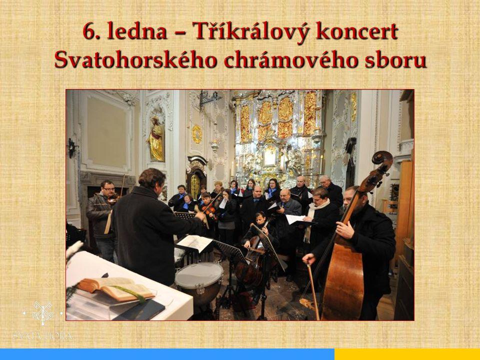 6. ledna – Tříkrálový koncert Svatohorského chrámového sboru