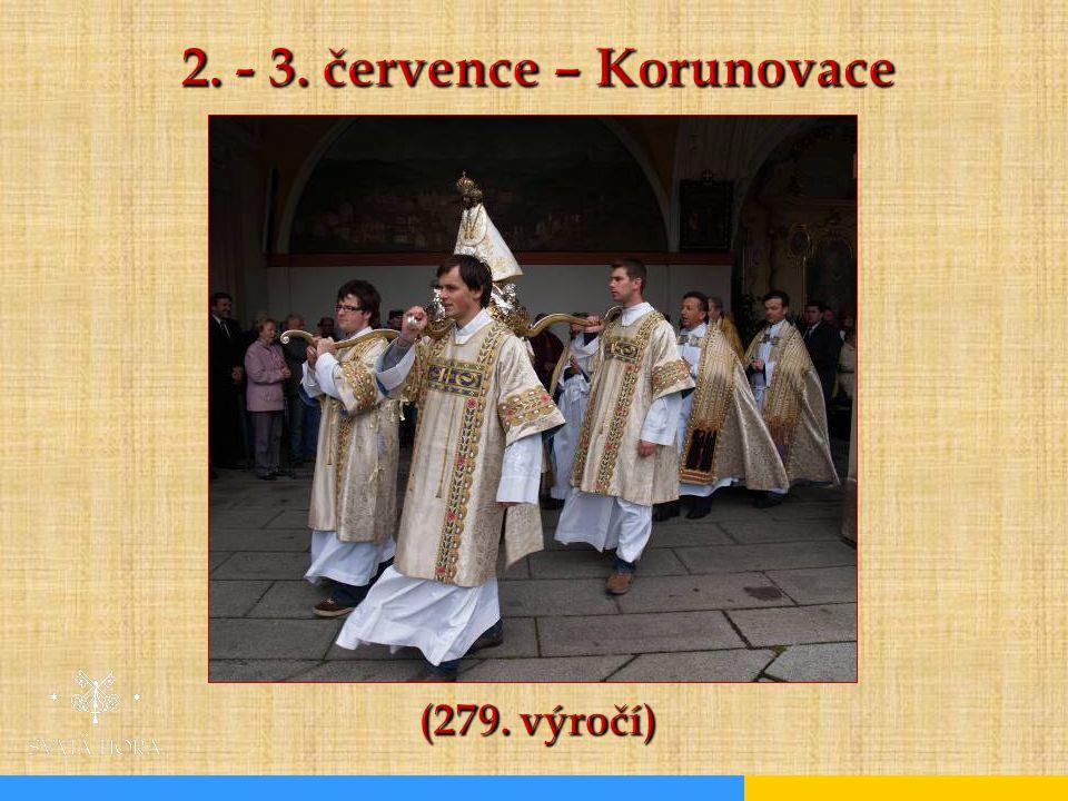 2. - 3. července – Korunovace (279. výročí)
