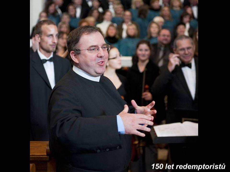 150 let redemptoristů