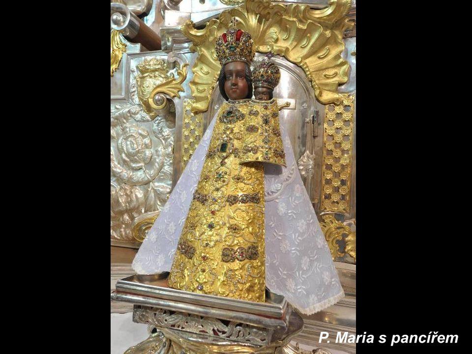 P. Maria s pancířem