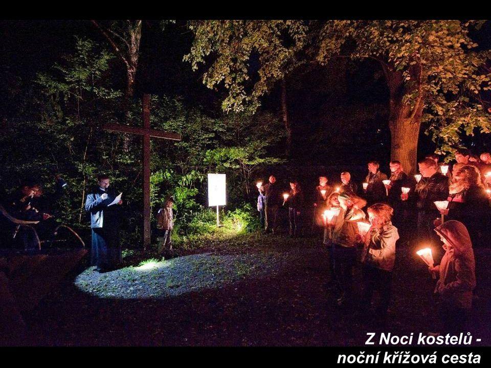 Z Noci kostelů - noční křížová cesta