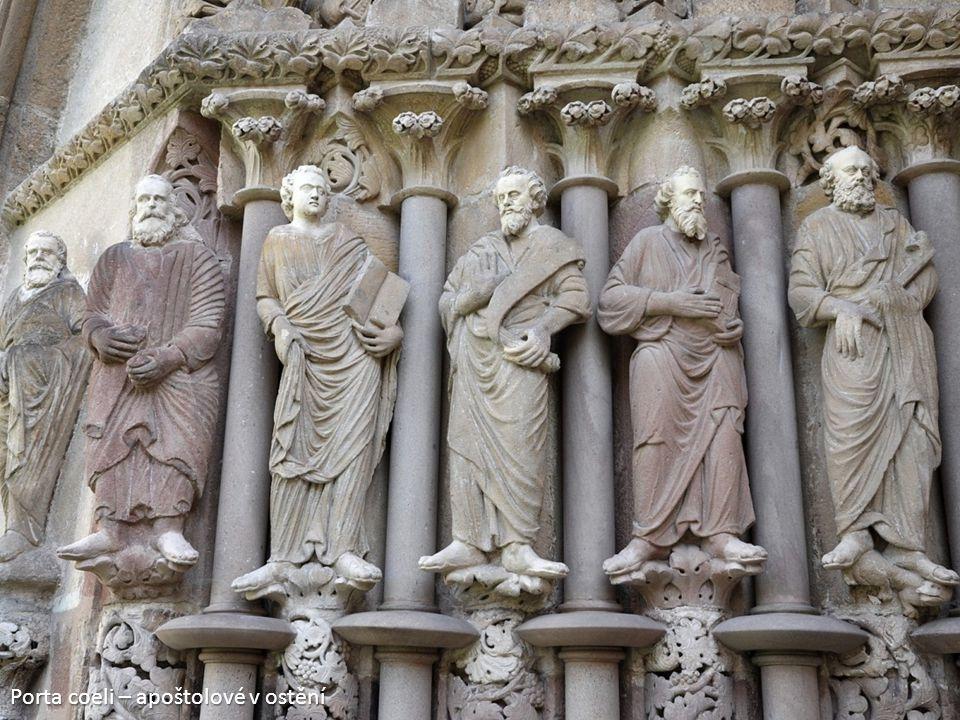 Porta coeli – apoštolové v ostění