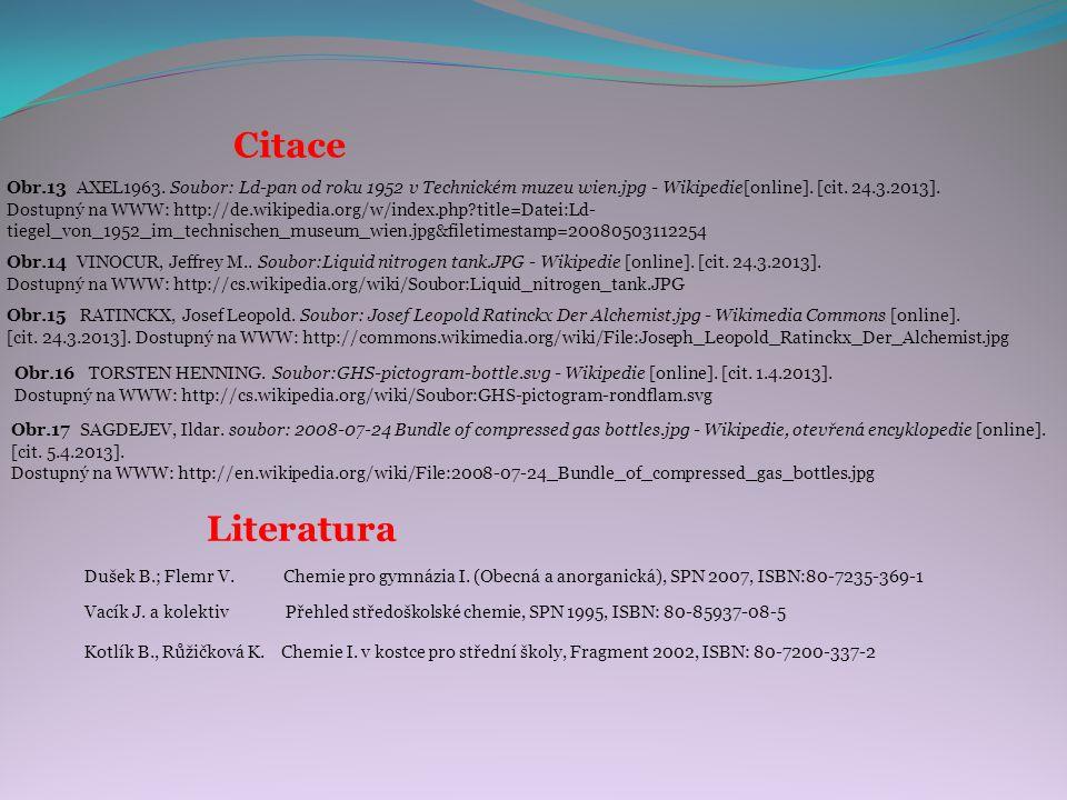 Dušek B.; Flemr V. Chemie pro gymnázia I.