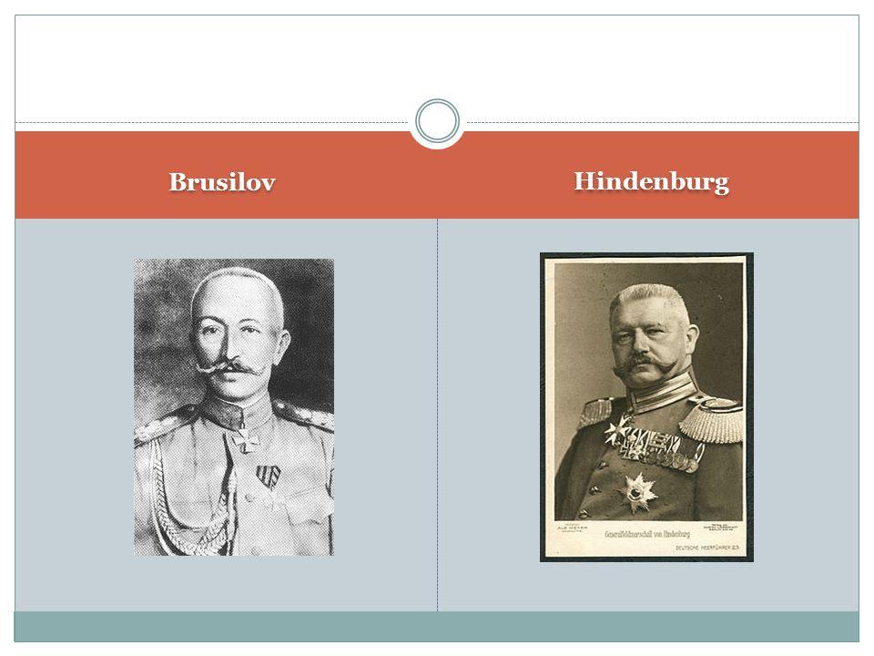 Brusilov Hindenburg