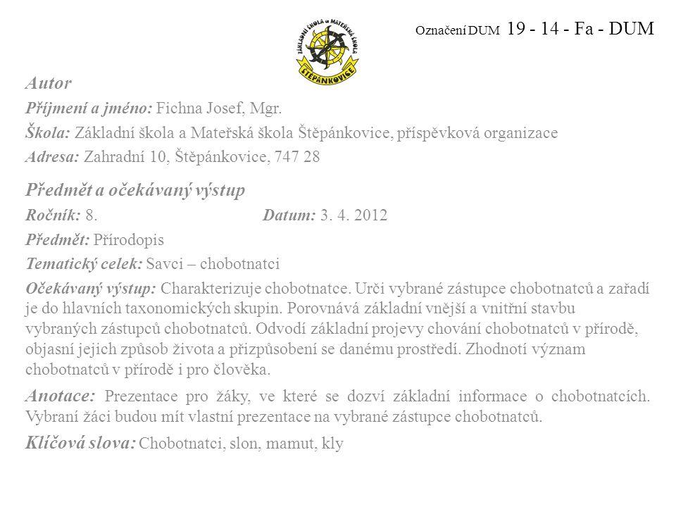 CHOBOTNATCI Obr. 1