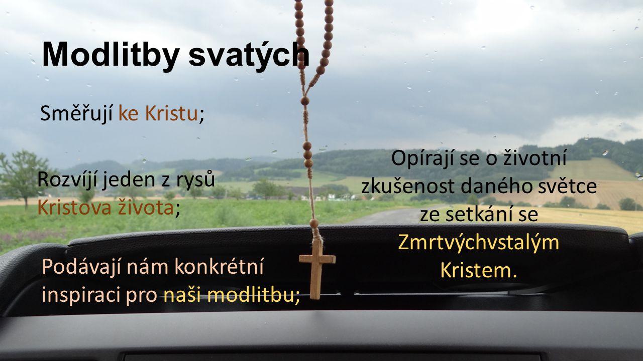 Sv.Benedikt Vztah mezi Otcem a Synem.