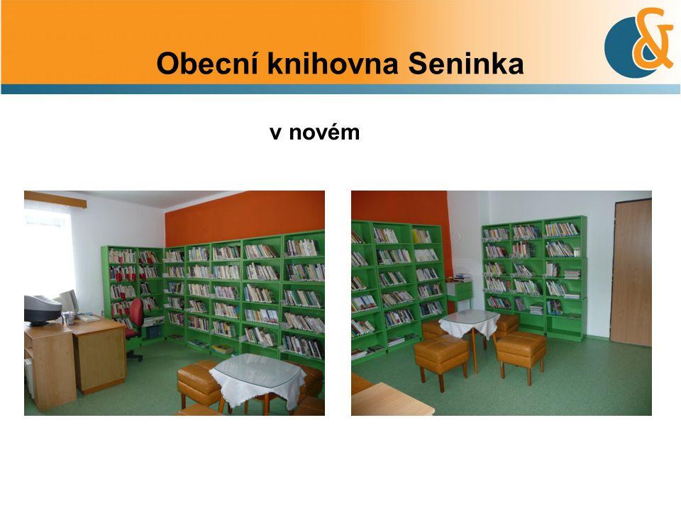 Obecní knihovna Seninka v novém