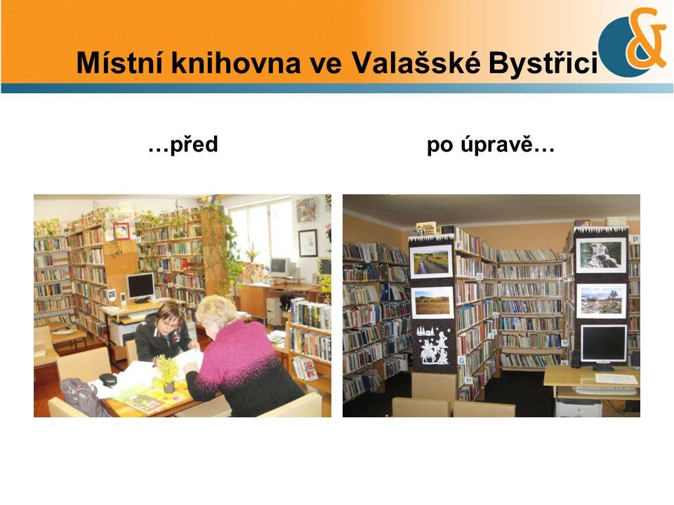 Místní knihovna ve Valašské Bystřici …předpo úpravě…