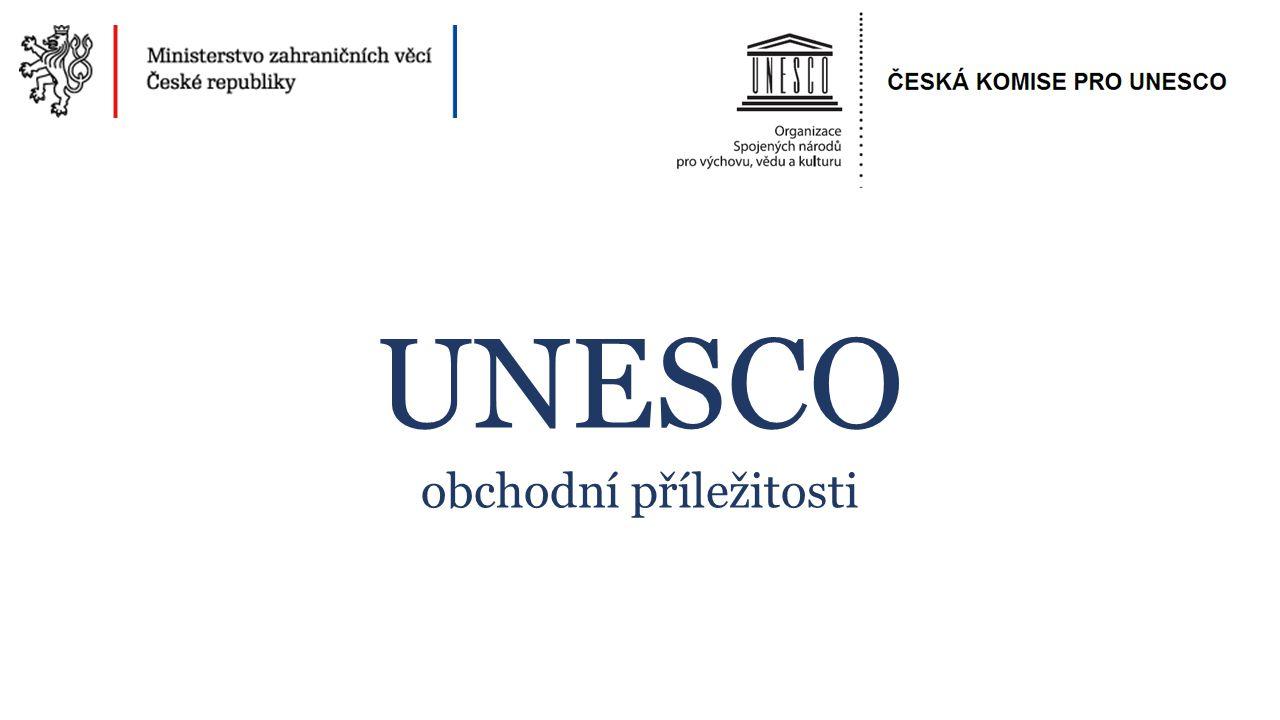UNESCO obchodní příležitosti