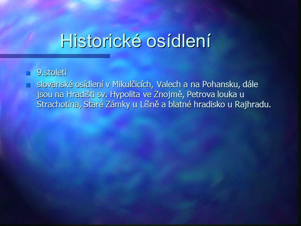 """Historické osídlení n Kolem 6 000 – 3 500 př. n. l. n eneolit n """"neolitická revoluce"""" - zemědělství n dřevěné oradlo a pěstování dobytku n trvalá sídl"""