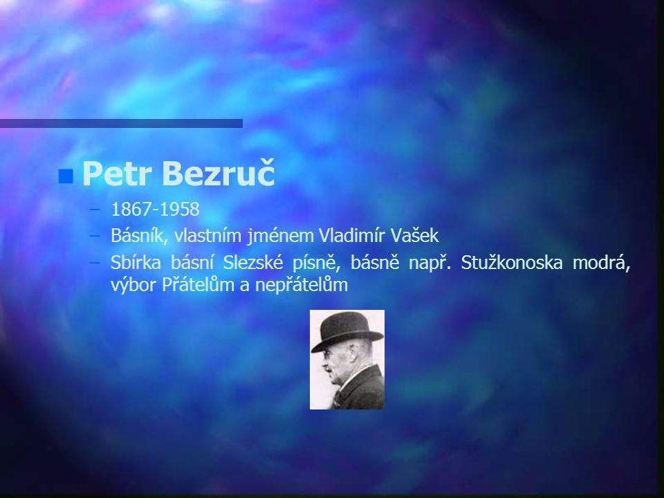 Významné osobnosti kraje n n Leoš Janáček – –Hudební skladatel, sbormistr, etnograf, hudební teoretik, pedagog a organizátor vlasteneckého života v Br