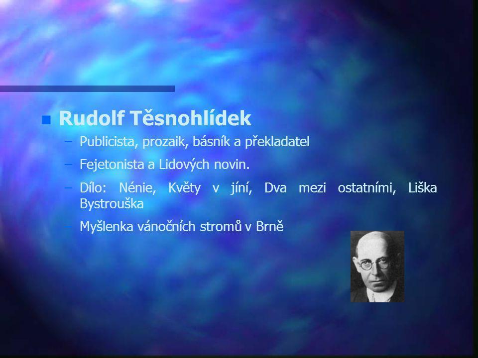 J.G. Mendel – –Johann Gregor Mendel přírodovědec a biolog, zakladatel genetiky. Opat augustiniánského kláštera na Starém Brně. – –Mendelovy zákony o d