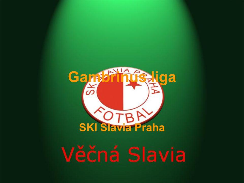 Gambrinus liga SKI Slavia Praha
