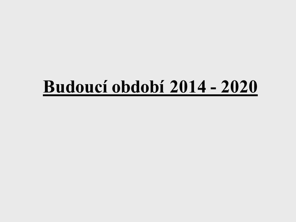 Budoucí období 2014 - 2020
