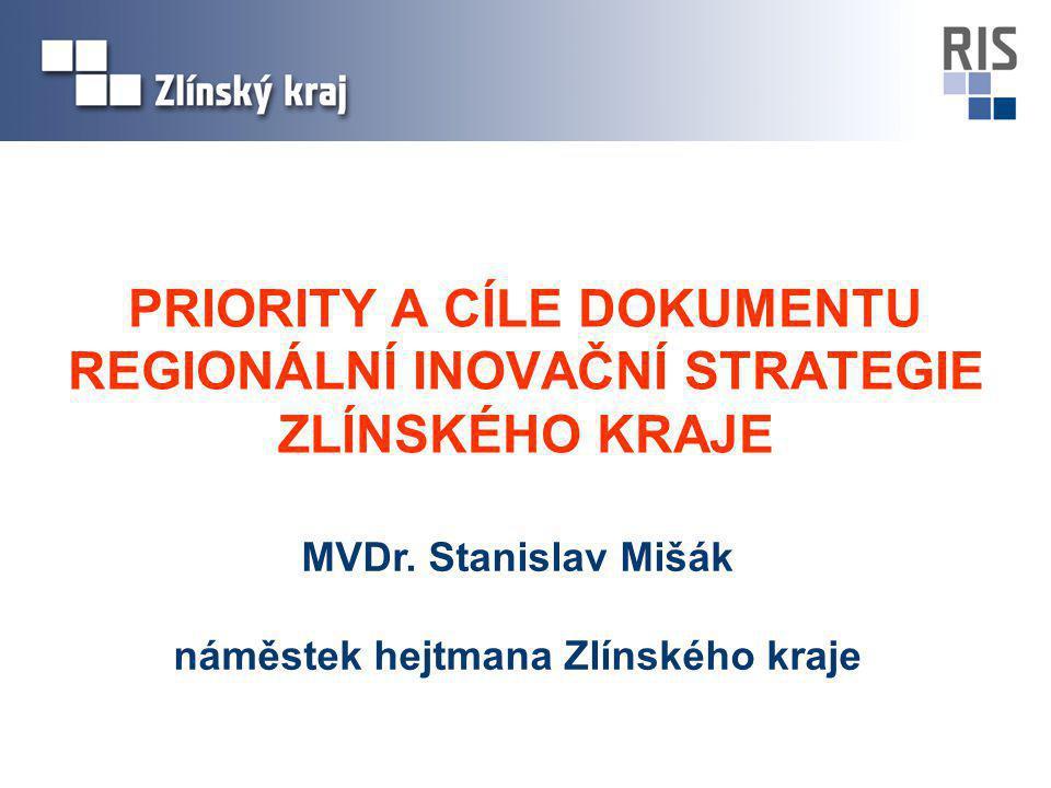 Hlavním cílem projektu RIS bylo vytvořit Regionální inovační strategii Zlínského kraje a její Akční plán Data pro vytvoření strategie jsme získávali: Z úvodní konference projektu RIS (listopad 2005) Formou série workshopů s podnikateli (duben 2006, březen 2007, listopad 2007) Pomocí dotazníkového šetření a osobních jednání s podnikateli (podzim 2006) Od zahraničních partnerů (zprávy od partnerů a průběžná jednání s nimi, návštěvy partnerských regionů) Analýzou dokumentů na evropské, národní i regionální úrovni (zejména v průběhu roku 2006) Ze statistických šetření, zkušeností členů řídícího výboru projektu atd.