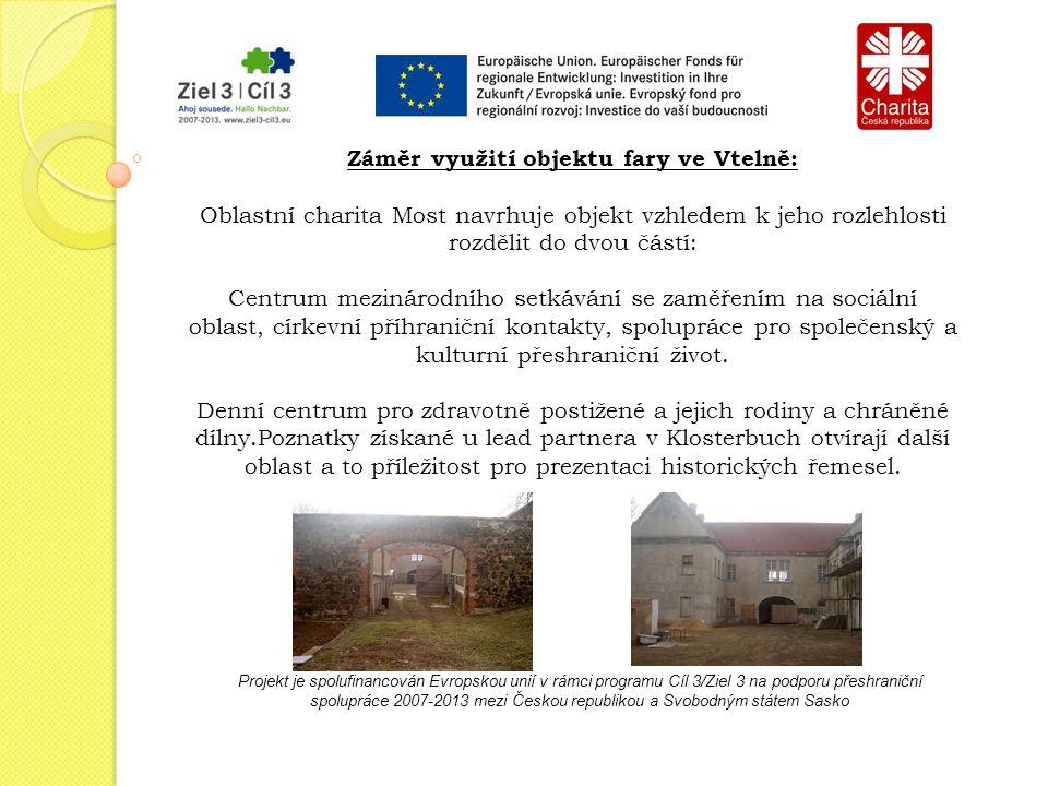 Projekt je spolufinancován Evropskou unií v rámci programu Cíl 3/Ziel 3 na podporu přeshraniční spolupráce 2007-2013 mezi Českou republikou a Svobodným státem Sasko